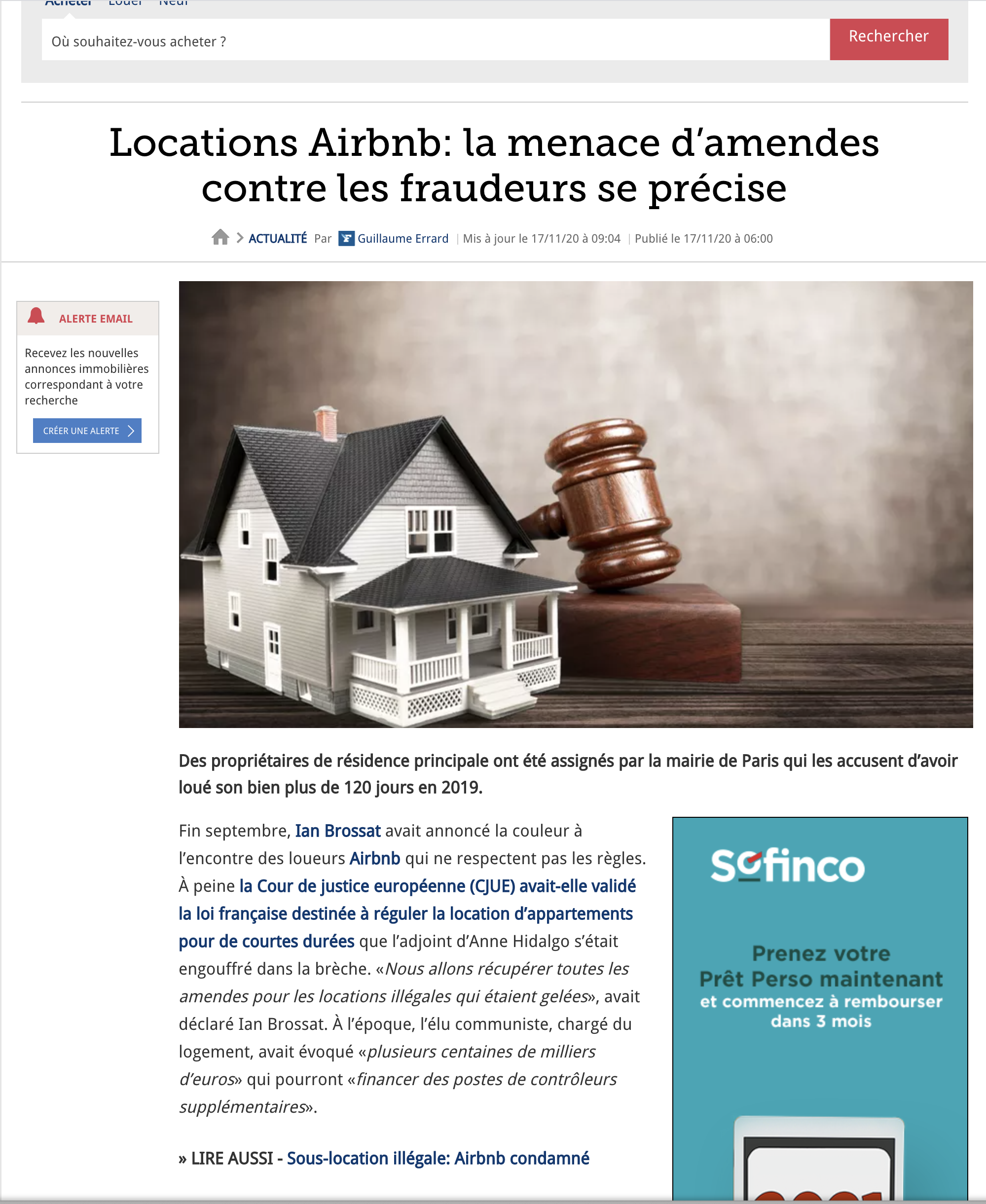 figaro - airbnb